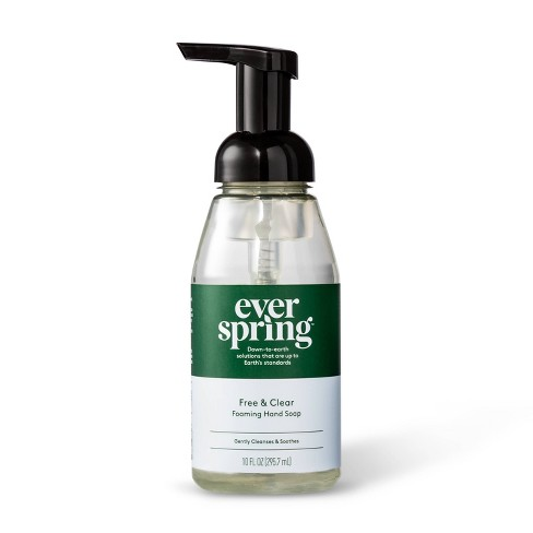 Free & Clear Foaming Hand Soap - 10 fl oz - Everspring™ - image 1 of 3