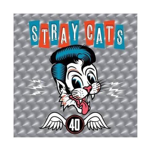 Stray Cats - 40 (Vinyl) - image 1 of 1