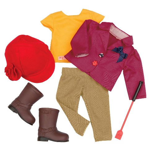 "Our Generation Deluxe Equestrian Outfit for 18"" Dolls - Ready to Ride - image 1 of 2"