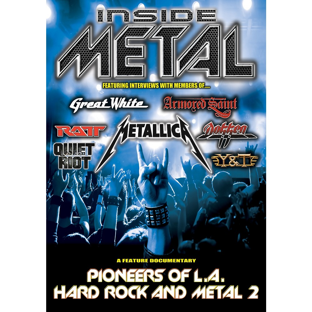 Inside Metal:Pioneers Of La Hard Rock (Dvd)