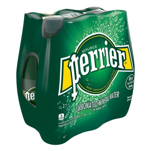 2a96106c31 Perrier Carbonated Mineral Water - 6pk/16.9 Fl Oz Bottles : Target