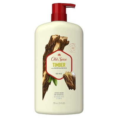 Old Spice Fresher Collection Timber Body Wash - 25oz
