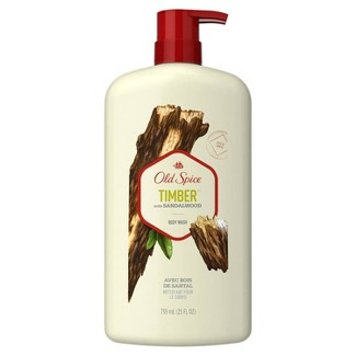 Old Spice Fresher Collection Timber Body Wash - 25oz : Target