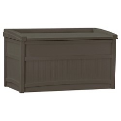 50gal Premium Deck Box With Seat - Suncast