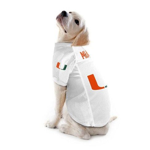 watch bc053 a8509 NCAA Little Earth Pet Football Jersey - Miami Hurricanes