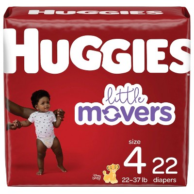 Huggies Little Movers Baby Diapers - (Select Size and Count)