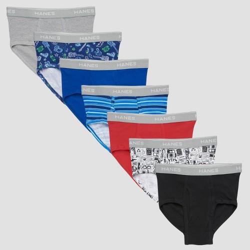 Hanes Boys' 7pk Classic Briefs - Colors May Vary