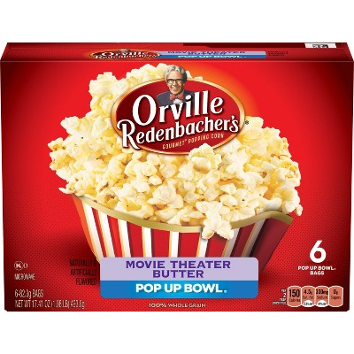 Orville Redenbacher S Movie Theater Butter Popcorn 19 74oz 6ct Target