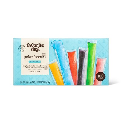 Freeze Pops - 100ct - Favorite Day™