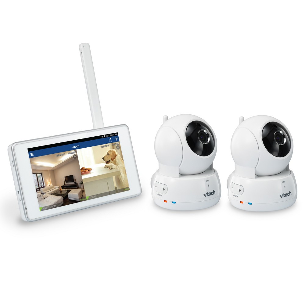 Vtech HD Pan & Tilt 2 Camera with Home Viewer - White (VC9312-245)