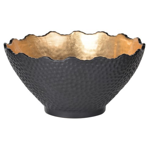 Decorative Bowl - Black/Gold - A&B Home - image 1 of 1