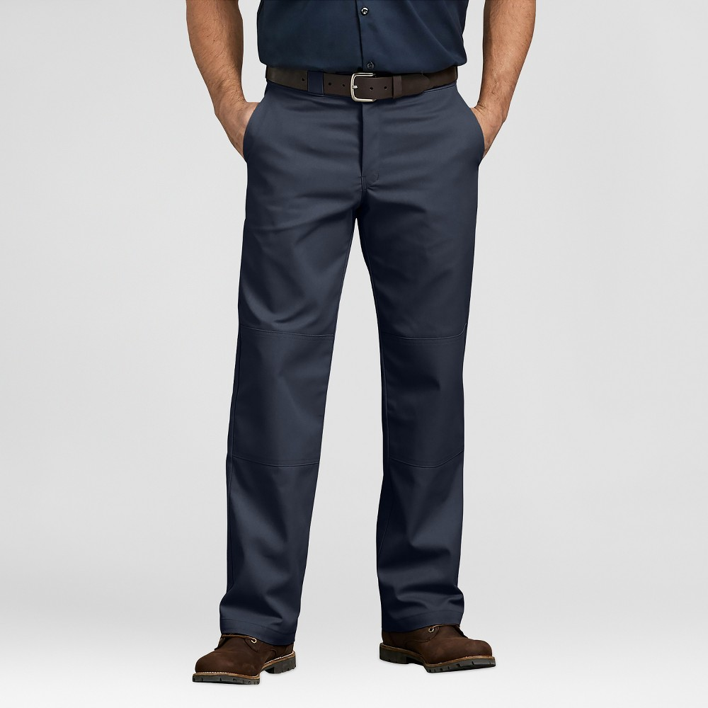 Dickies Men's Relaxed Classic Straight Fit Trousers - Deep Navy 38x34