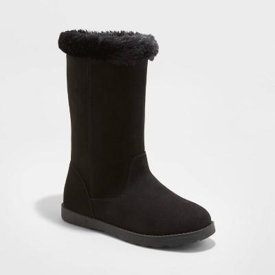 Girls' Kameryn Faux Fur Shearling Boots - Cat & Jack™