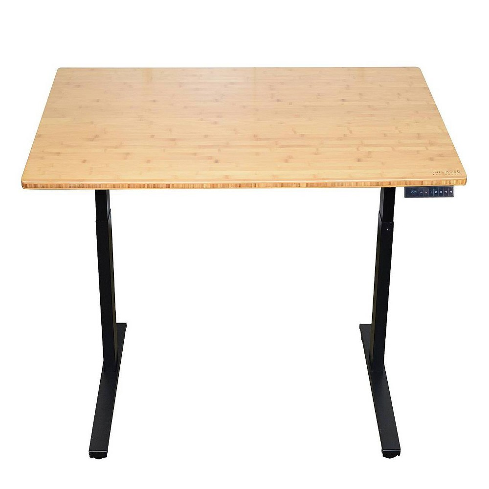 "Image of ""48""""x30"""" Adjustable Standing Desk Black - Uncaged Ergonomics"""