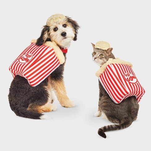 Popcorn Halloween Dog and Cat Costume - Hyde & EEK! Boutique™ - image 1 of 3