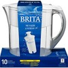Brita Water Filter 10-Cup Grand Water Pitcher Dispenser - image 2 of 4