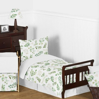 Toddler Botanical Leaf Bedding Set - Sweet Jojo Designs