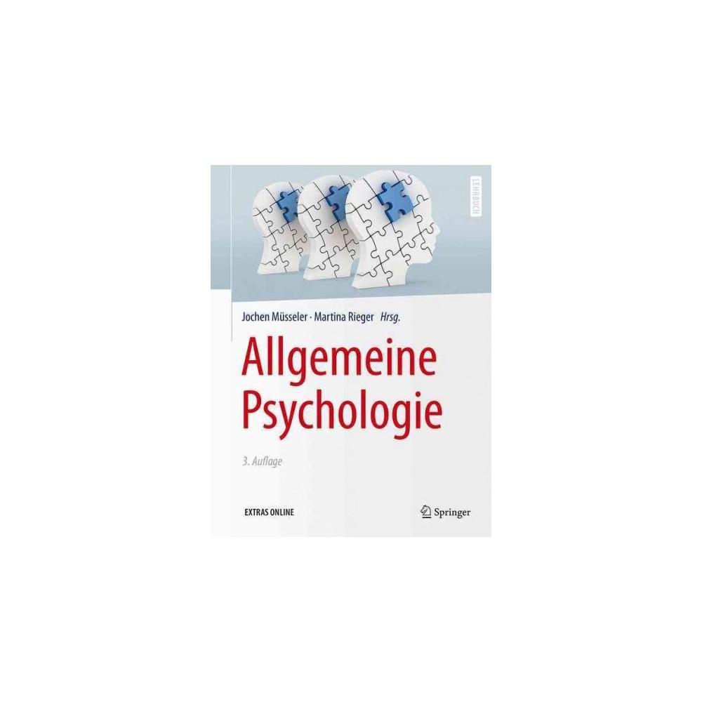 Allgemeine Psychologie (Hardcover)
