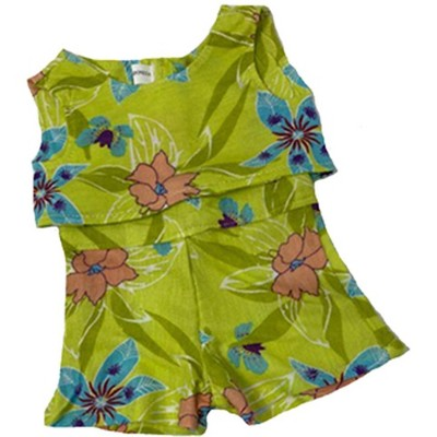Doll Clothes Superstore Lime Bathing Suit fits 18 Inch Girl Dolls