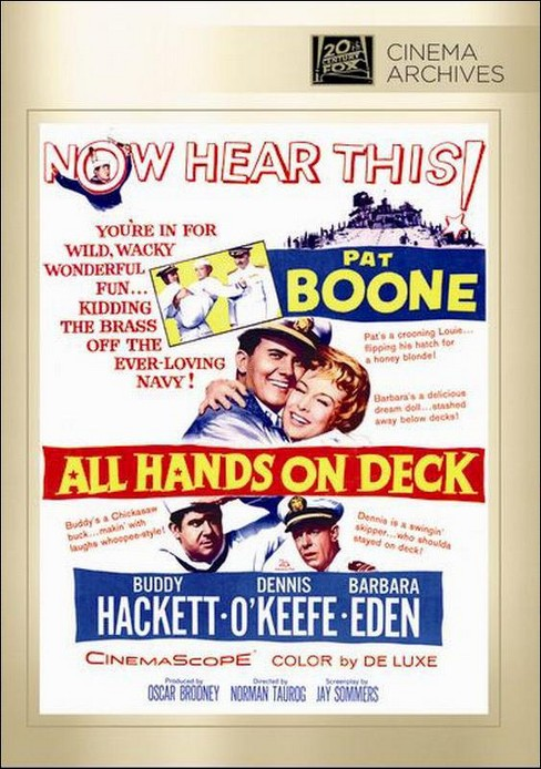 All hands on deck (DVD) - image 1 of 1