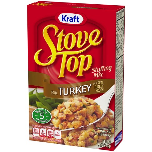 stove top stuffing mix for turkey 6oz target