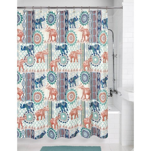 Elephant Patch Shower Curtain - Allure Home Creation