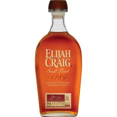 Elijah Craig Small Batch Bourbon Whiskey - 750ml Bottle