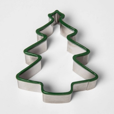 Stainless Steel Holiday Tree Cookie Cutter - Threshold™