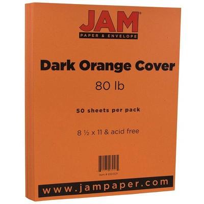 """JAM Paper 50pk Basis 80lb Cardstock Paper 8.5"""" x 11"""""""