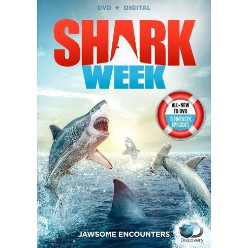 Sharkweek: Jawsome Encounters (DVD) - image 1 of 1