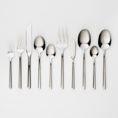 45pc Stainless Steel Izon Mirror Flatware Set - Project 62™
