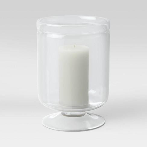 11 X 7 8 Glass Hurricane Candle Holder Threshold Target