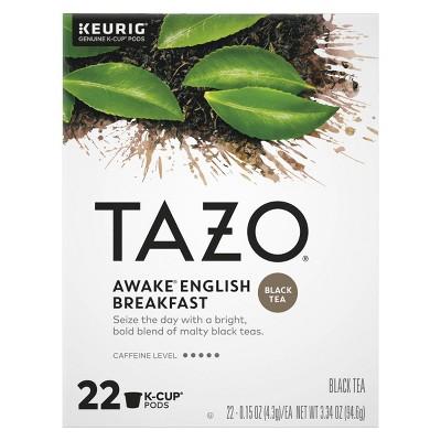 Tazo Awake Tea Pods - 22ct