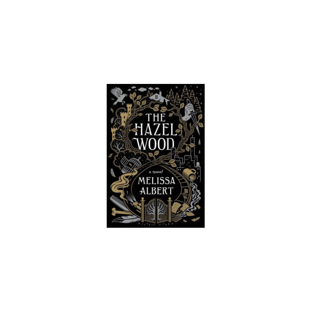Hazel Wood - Large Print by Melissa Albert (Hardcover)