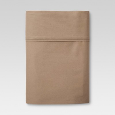 Ultra Soft Flat Sheet (Full)Brown 300 Thread Count - Threshold™