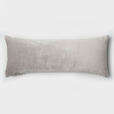Gray Heather Jersey Body Pillow Cover - Room Essentials™