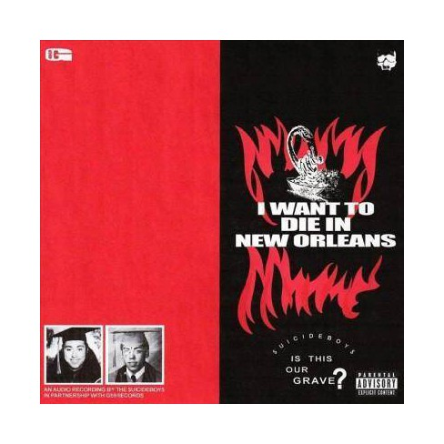 Suicideboys - I Want To Die In New Orleans (CD) - image 1 of 1