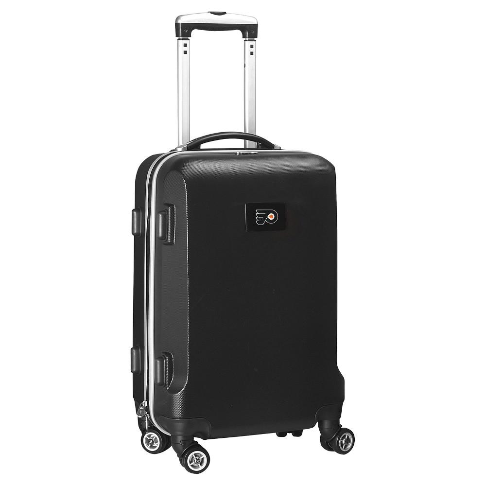 NHL Mojo Philadelphia Flyers Hardcase Spinner Carry On Suitcase - Black