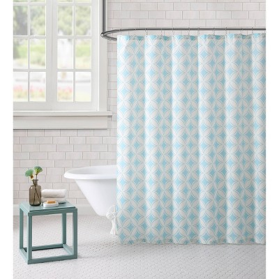 Paisley Shower Curtain Aqua - Freshee