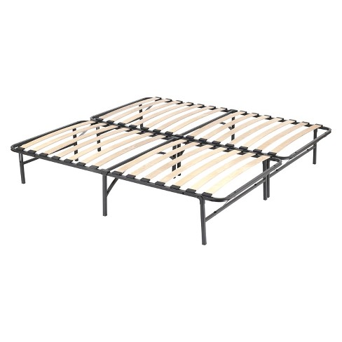 Wooden Slat Simple Base Bed Frame - Pragma Bed : Target