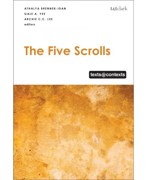 Five Scrolls -  (Texts@Contexts) (Hardcover) - image 1 of 1