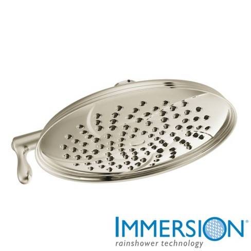 """Moen S1311 Isabel 9"""" Multi Function Shower Head Only - image 1 of 4"""