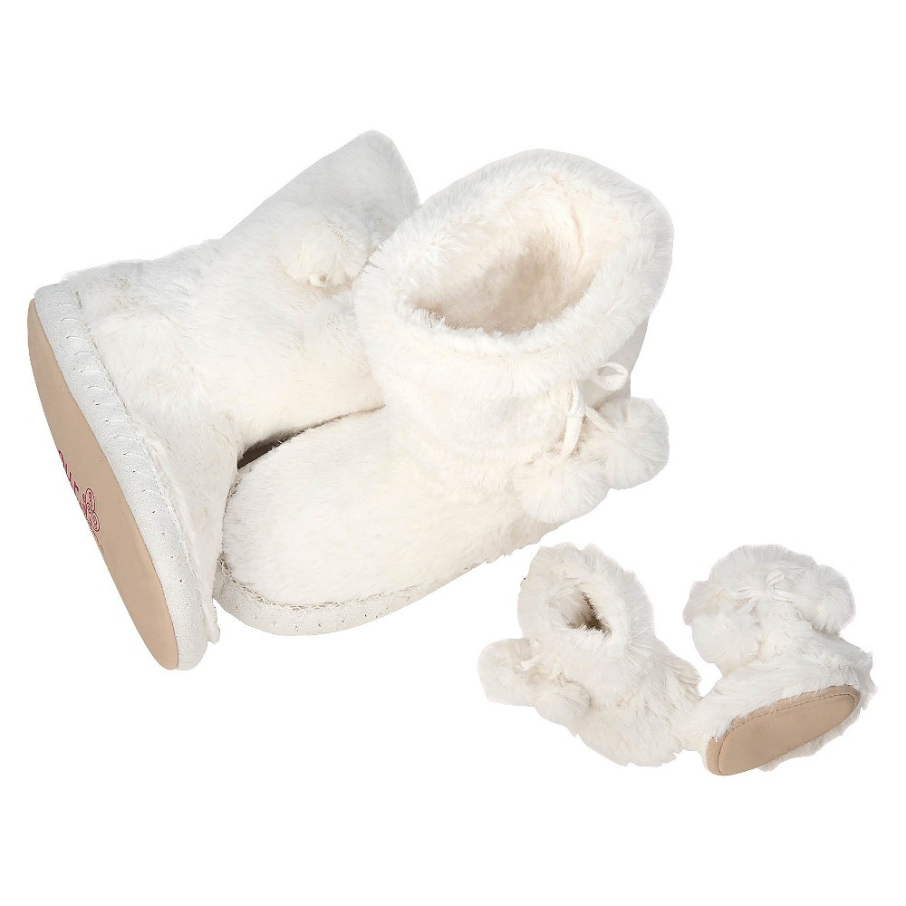 Our Generation Me & You Slippers - Faux Fur - Size S