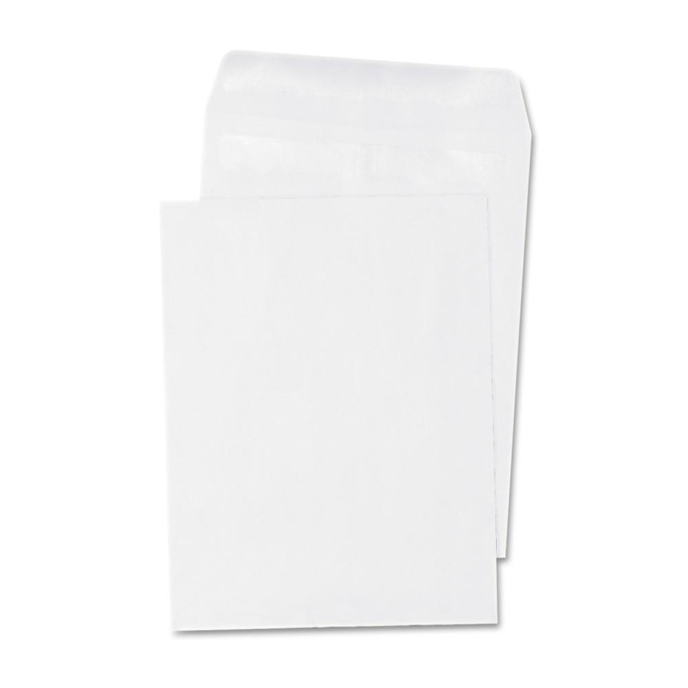Universal Self Seal Catalog Envelope, 6 x 9, White, 100/Box (42100)