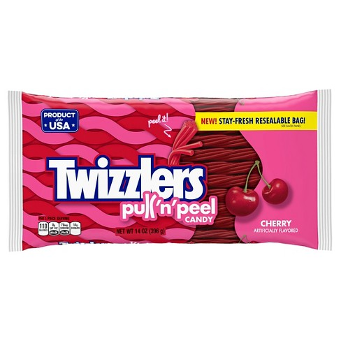 Twizzlers Pull-N-Peel Cherry Licorice Candy - 14oz - image 1 of 5