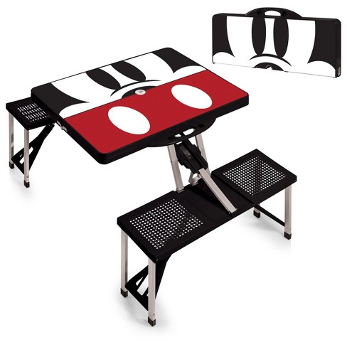 Picnic Time Disney Mickey Mouse Portable Folding Picnic Table