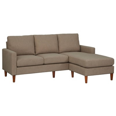 Lee Sofa with Reversible Chaise Cement Gray - Lifestorey