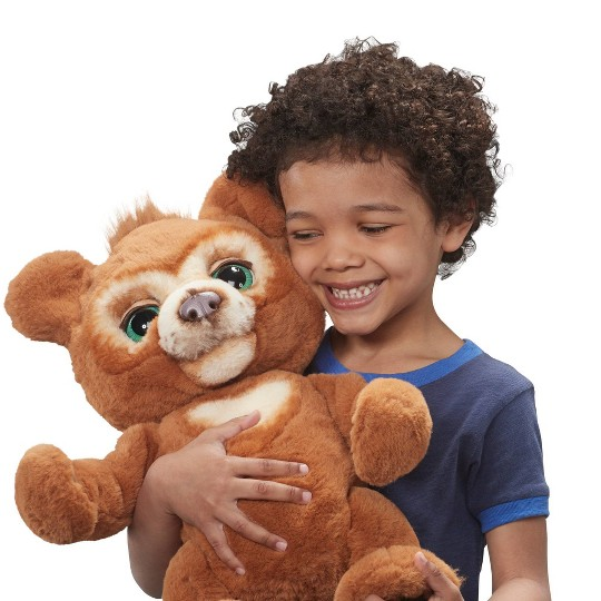 furReal Cubby - The Curious Bear Interactive Plush Toy image number null
