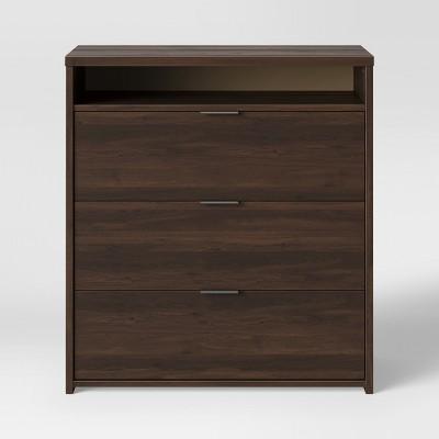 3 Drawer Dresser Espresso Brown - Made By Design™