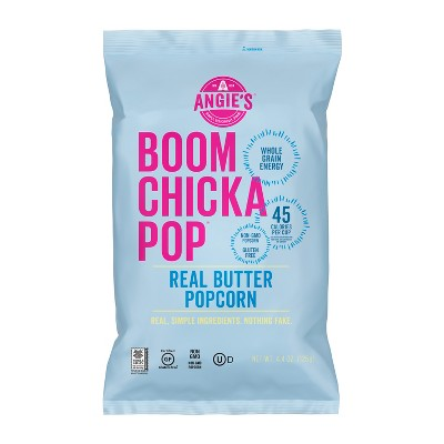Angie's Boomchickapop Real Butter Popcorn - 4.4oz